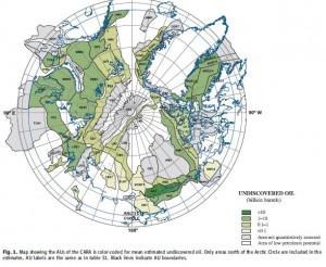 Geologiska studier av olja i arktis