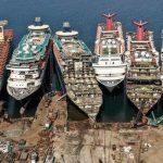 En bild av minskad efterfrågan på olja